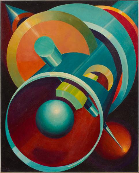 CAVALCANTI Otto (Brazilian b.1930) - 'Hypothesis No.