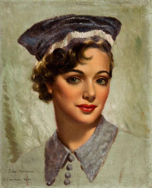 CAWTHORNE Christopher (fl. Mid-20th Century) - 'Jessie Matthews', the actress.