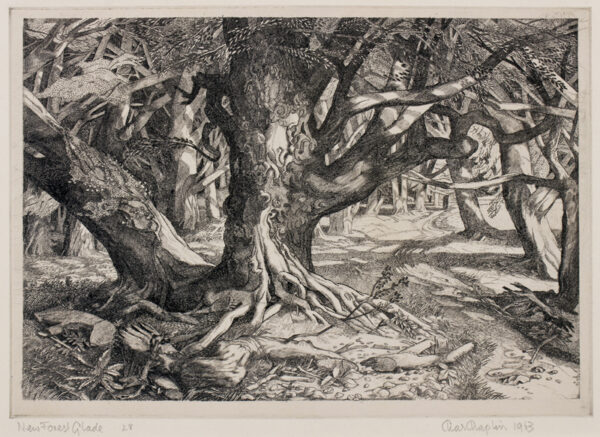 CHAPLIN Charles (1907-1987) - 'New Forest Glade'.
