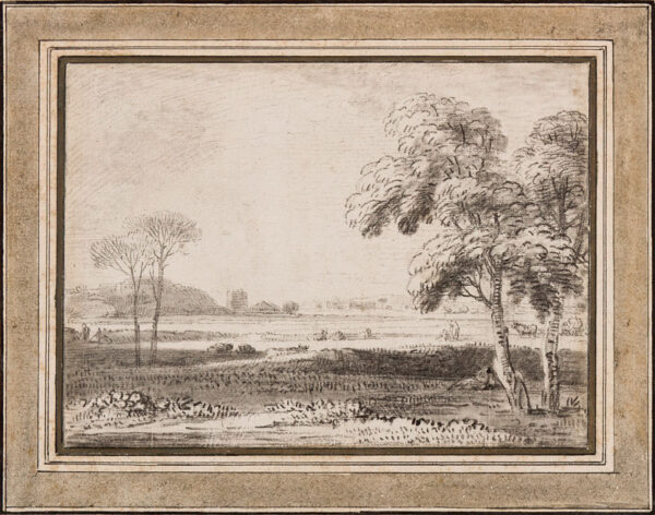 CHATELAIN Jean Baptiste (c.1710-c.1758) - Landscape.