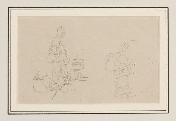 CHINNERY George (1774-1852) - Chinese figures III.