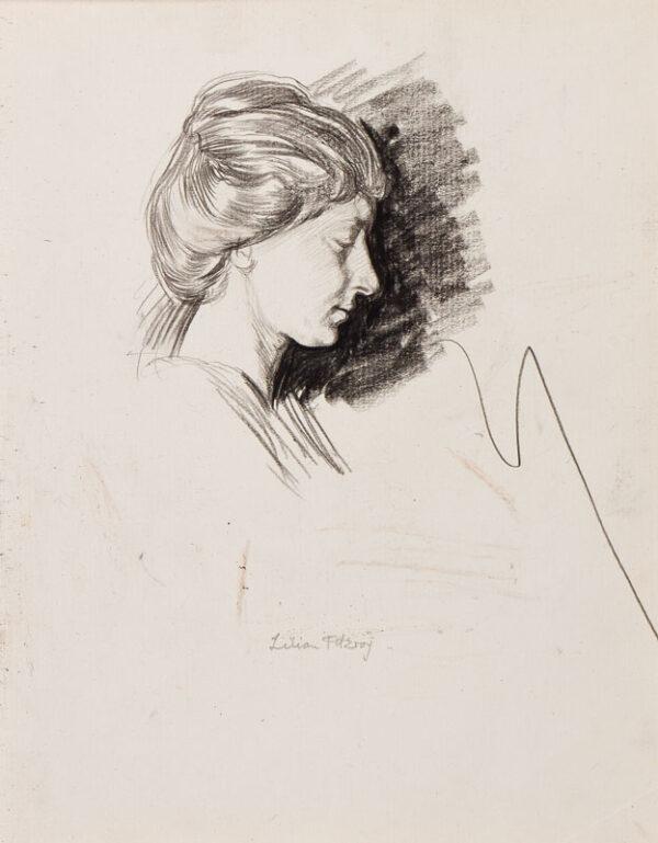 CLARKE HALL Edna (1879-1979) - 'Lilian Fitzroy'.