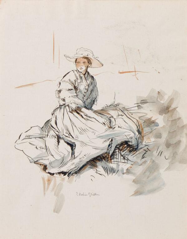 CLARKE HALL Edna (1879-1979) - '?Katie Gliddon'.