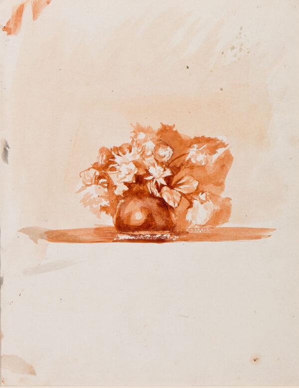 CLARKE HALL Edna (1879-1979) - Still-life study.
