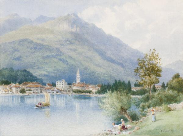COLERIDGE Frederick George (Exh: 1866-1925) - Italy.