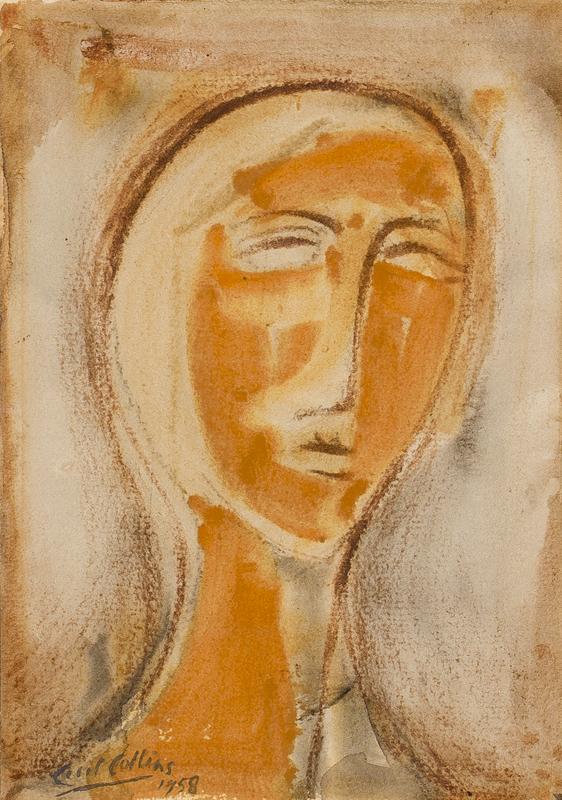 COLLINS Cecil (1908-1989) - 'Head'.
