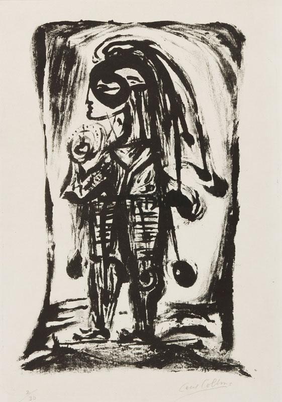 COLLINS Cecil (1908-1989) - 'Masked Fool' (T23).