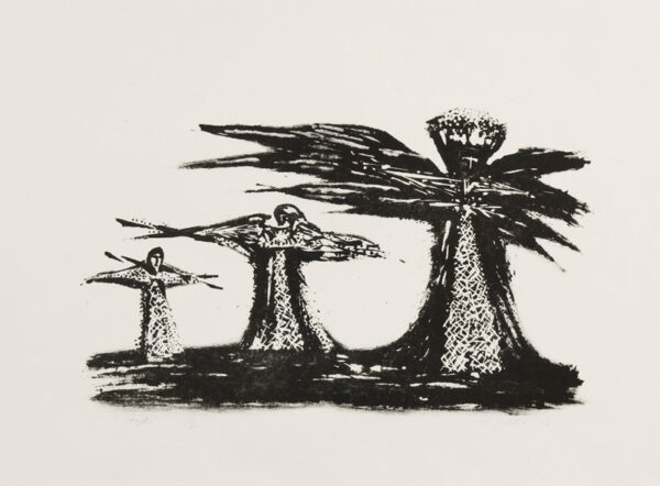 COLLINS Cecil (1908-1989) - 'Angels' (T.