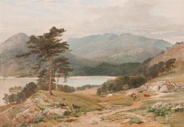 COOK Ebenezer Wake (1843-1926) - Cumberland.