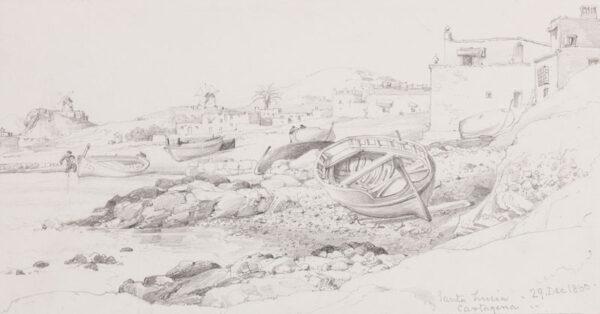 COOK Edward William R.A. (1811-1880) - Spain.