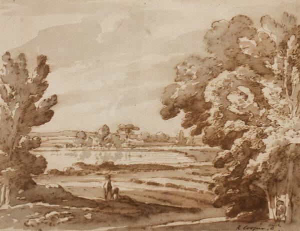 COOPER Richard Jnr (1740-1822) - Landscape.