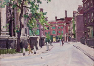 ABELSON Evelyn (1886-1967) - 'Smith Square'.