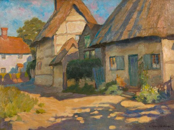 CUNEO Nell Tenison (1867-1953) - 'Blewberry Village', Oxfordshire.