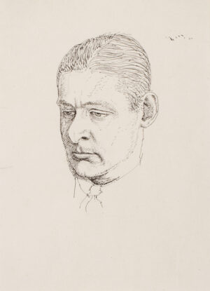 EVANS Powys 'Quiz' (1899-1981) - 'T.