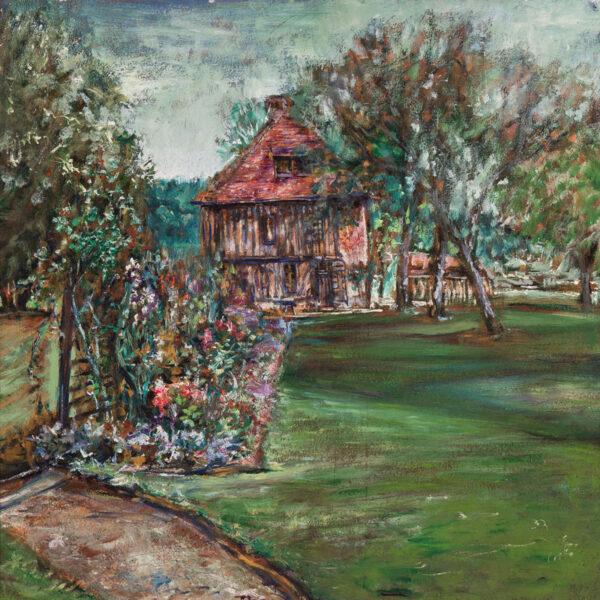 GUEVARA 'Chile' Alvaro (1894-1951) - 'Piencourt, near Lisieux'.