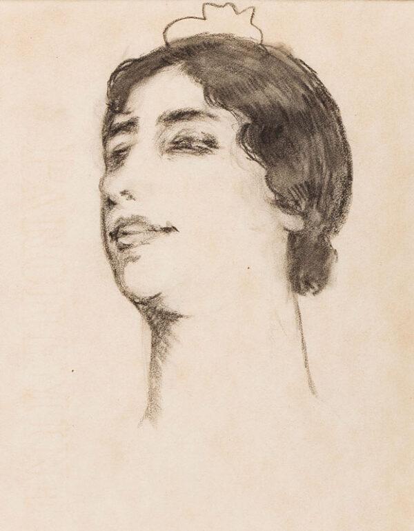 KELLY Sir Gerald P.R.A. (1879-1972) - Study of a Spanish dancer.