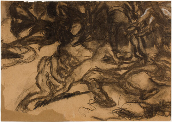 KEMENY Kalman (1896-1994) - Hand to hand fighting on the Austro-Hungarian Front.