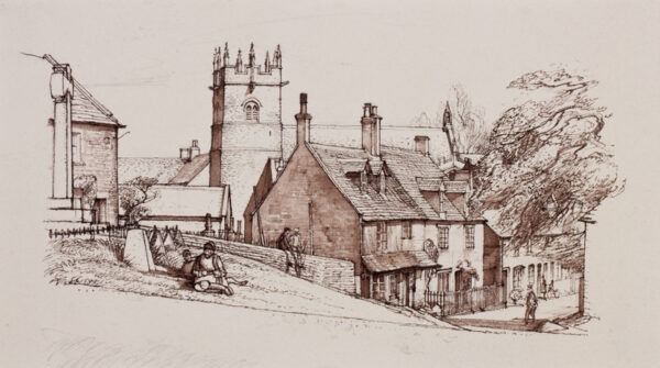 LACK Henry Martyn R.E. (1909-1979) - Gloucestershire.