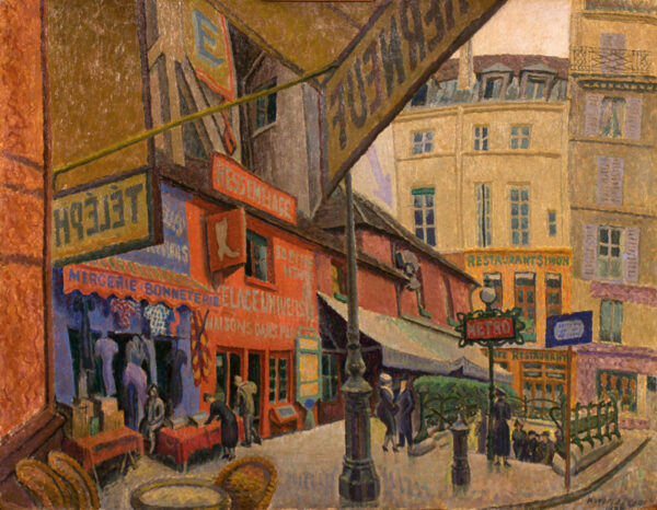 PEARCE Charles Maresco N.E.A.C. (1874-1964) - 'Paris'.