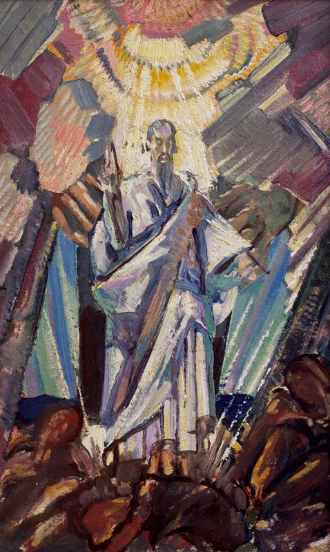 MOIRA Gerald R.I. N.P. V.P.R.W.S. (1867-1959) - 'Moses'.