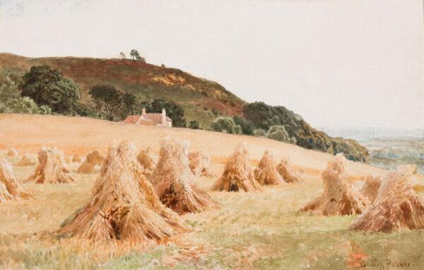 PALMER R.I. Harry Sutton (1854-1933) - 'Surrey – an upland farm'.