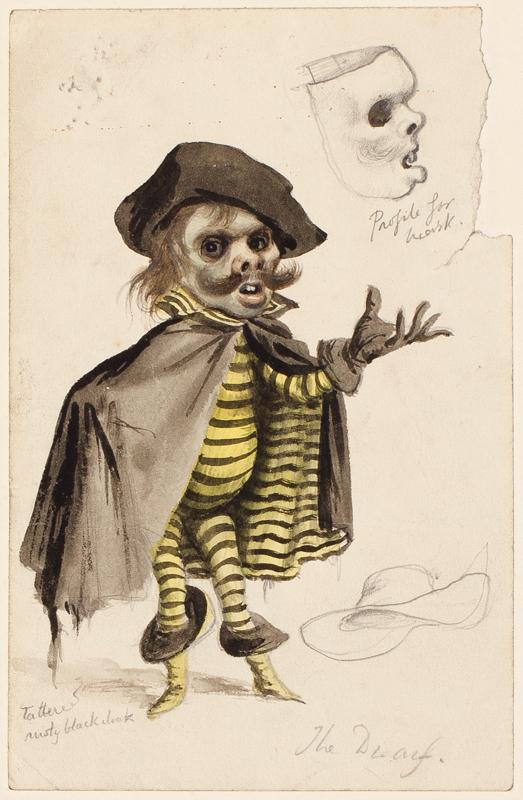 WHISTLER Rex (1905-1944) - 'The Dwarf'.