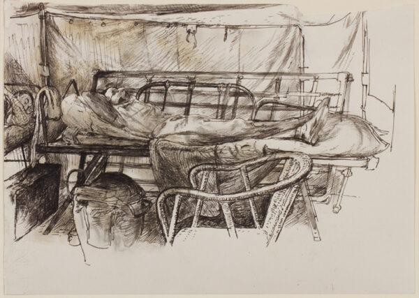 LACK Henry Martyn R.E. (1909-1979) - Wartime refugee.