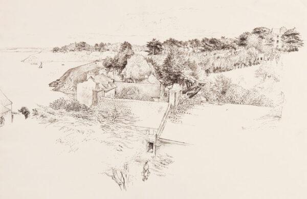 LACK Henry Martyn R.E. (1900-1979) - The Estuary.
