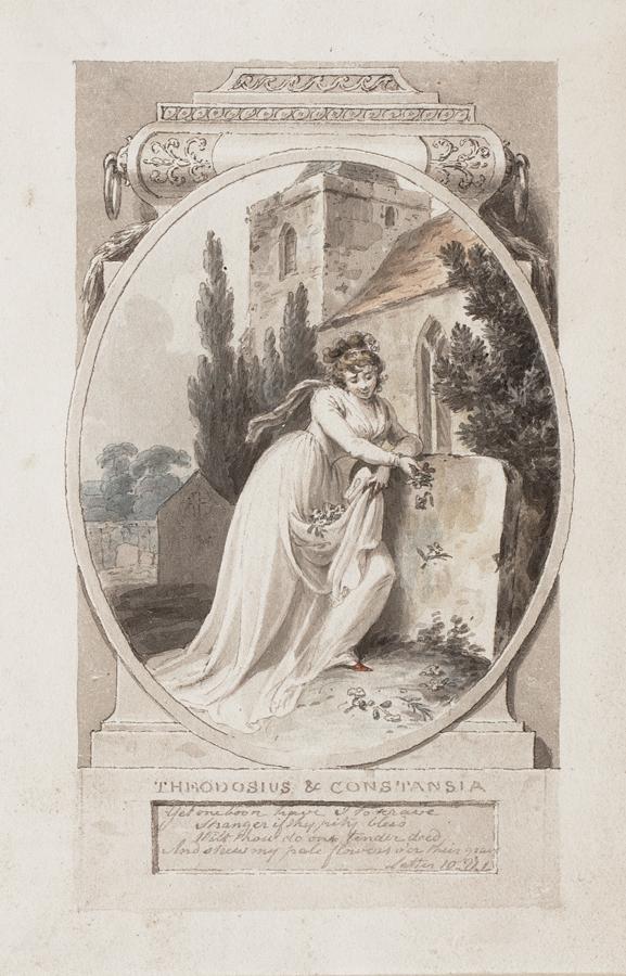 CORBOULD Richard (1757-1831) - 'Theodosius & Constantia'.