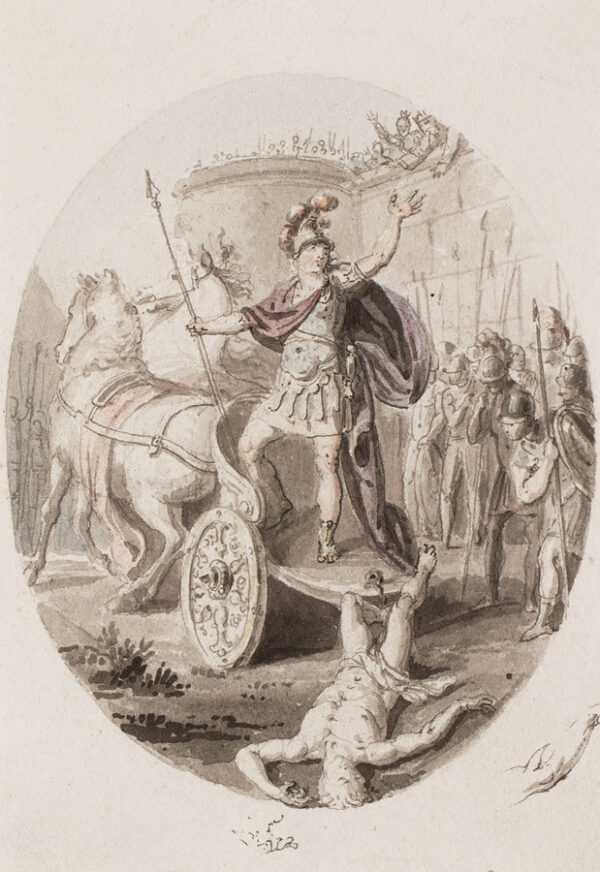 CORBOULD Richard (1757-1831) - Achilles vents his rage on Hector.