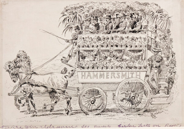 CORBOULD Alfred Chantry (1852-1920) - The Hammersmith Omnibus.