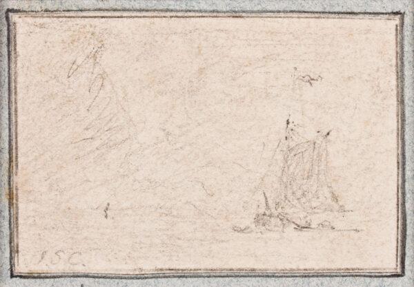 COTMAN John Sell (1782-1842) - Study of boats.