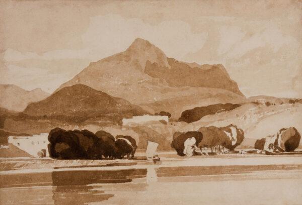 COTMAN John Sell (1782-1842) - 'Landscape Composition'.
