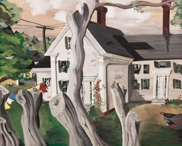 COWLES Fleur (1908-2009) - Connecticut clapboards.