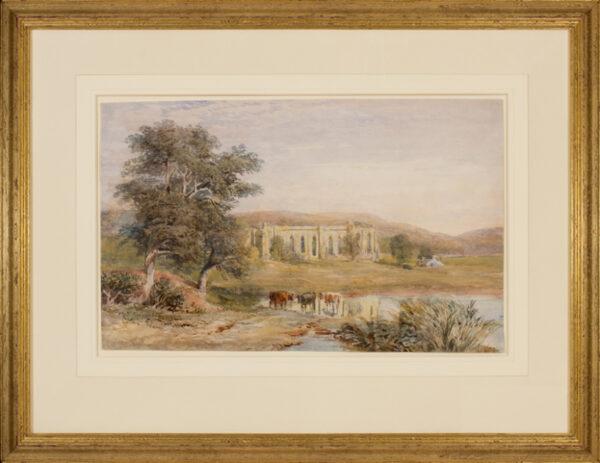 COX David Jnr (1809-1885) - Abbey ruins.