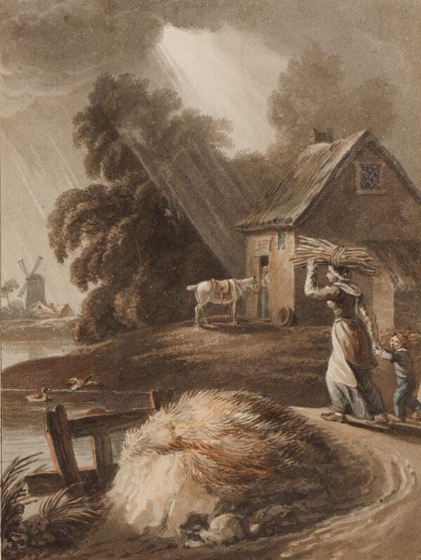 CRAIG William Marshall (c.1765-c.1834) - Picturesque landscape.