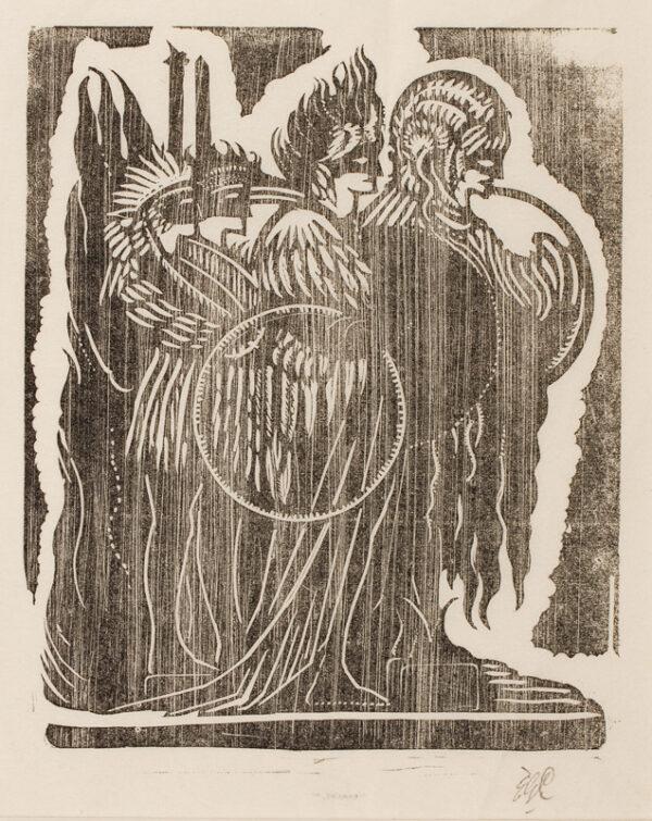 CRAIG C.H. Edward Gordon (1870-1966) - Wood engraving.