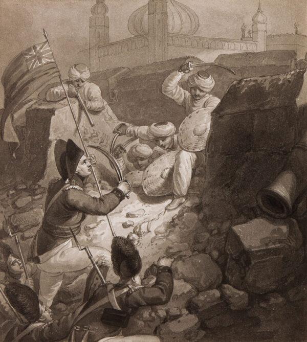 CRAIG William Marshall (c.1765-c.1834) - 'The storming of Seringpatam'.