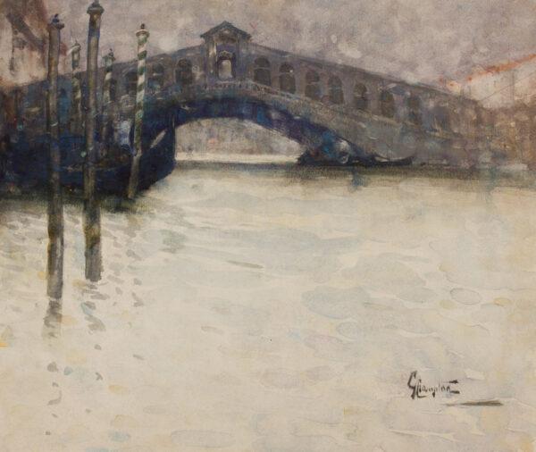 CROMPTON Gertrude (1874- 1959) - Venice.