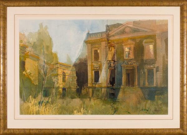 CRESSWELL Alexander (b.1957) - 'Mavisbank House'.