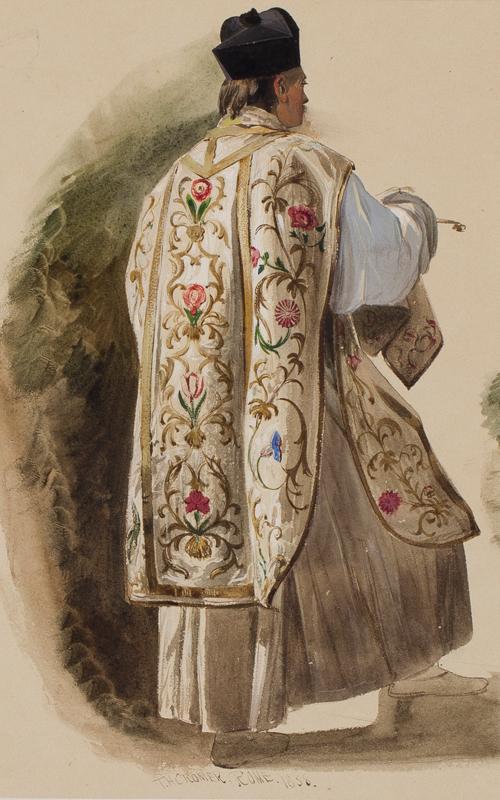 CROMEK Thomas Hartley A.N.W.S. (1809-1873) - 'Rome'.