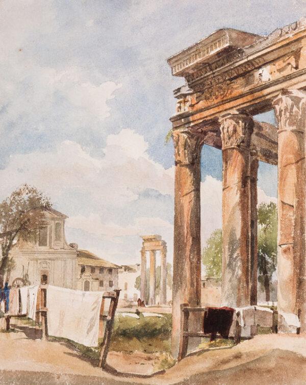 CROMEK Thomas Hartley (1809-1873) - Rome: the Forum.
