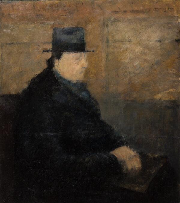 CRONEY John Edward (1921- 2011) - The High Hat.