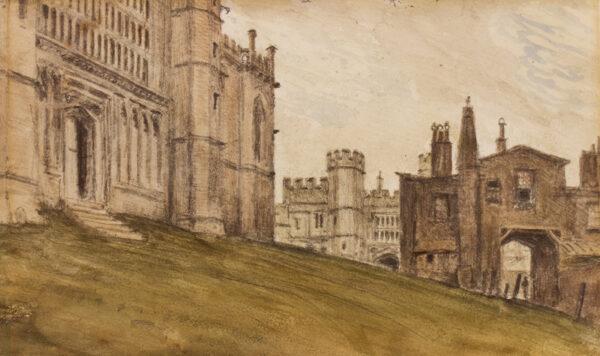 CROTCH Dr William (1775-1847) - Windsor Castle.