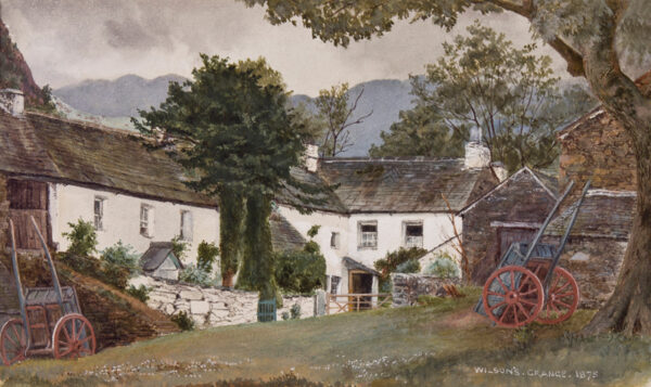 CUMBRIA subject. Anon. 1875. - Grange over Sands: 'Wilson's' Farm, Lindale.