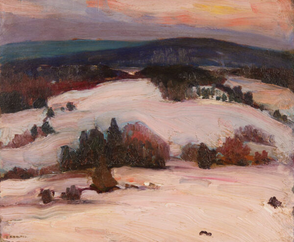 DALTON Ernest Alfred (1887-1961) - 'The Mill', Quebec.