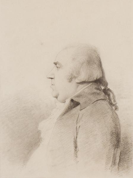 George DANCE Jnr R.A. (1741-1825) - Gentleman in profile.