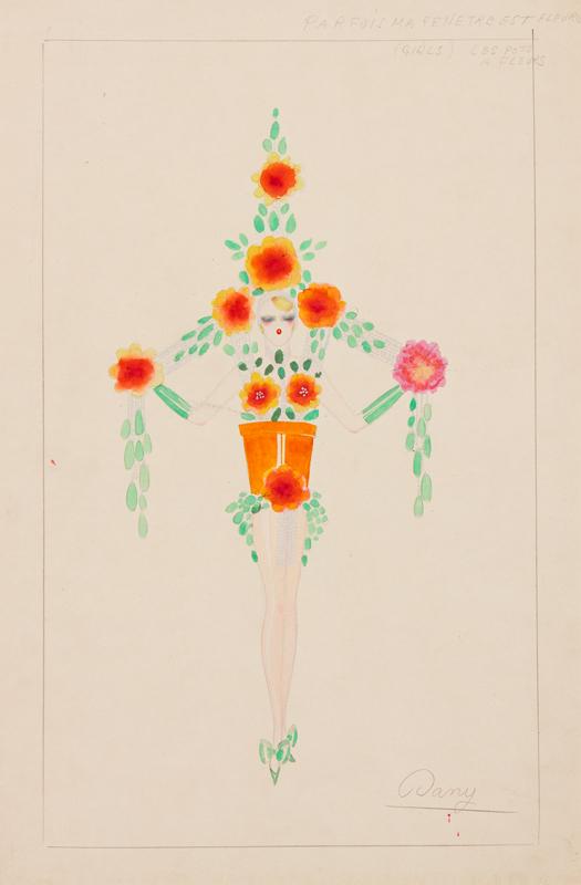DANBY - 'Parfois ma fenetre est fleurie / (Girls) Les pots a fleurs'.