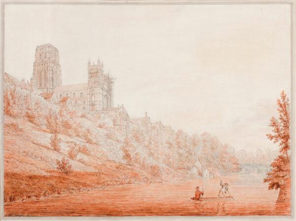DAYES Edward (1763-1804) - 'City of Durham'.