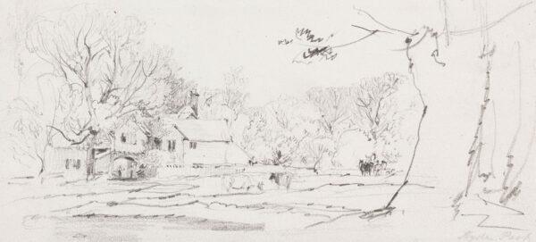 DE WINT Peter O.W.S. (1784-1849) - 'Hyde Park'.